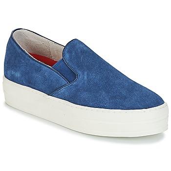 Shoes Women Slip ons Skechers UPLIFT Blue