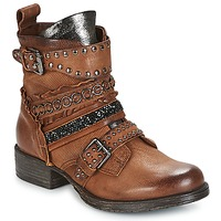 Shoes Women Mid boots Mjus NORTON Camel