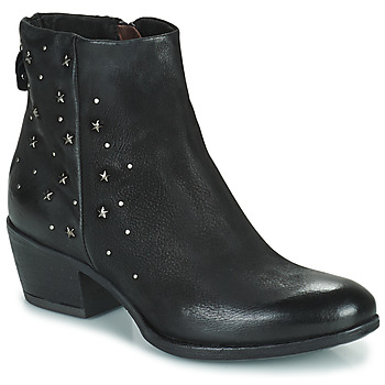 Shoes Women Mid boots Mjus DALLY STAR Black