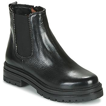 Shoes Women Mid boots Mjus DOBLE CHELS Black