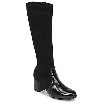 Shoes Women Boots Unisa ORLANDO Black