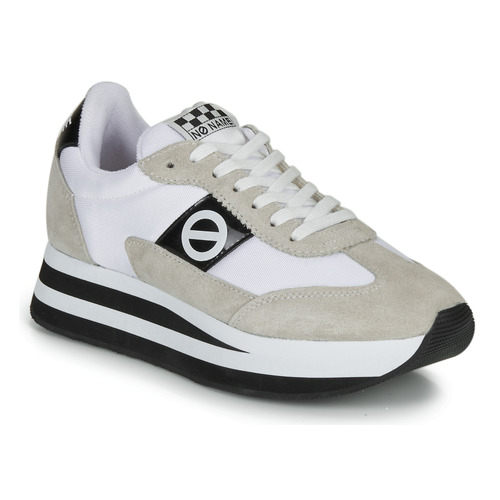 Shoes Women Low top trainers No Name FLEX JOGGER White