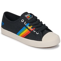 Shoes Women Low top trainers Gola Coaster rainbow Black