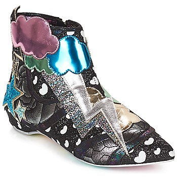 Shoes Women Mid boots Irregular Choice Electric boots  black / Silver