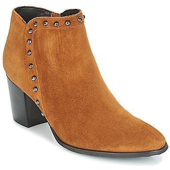 Shoes Women Ankle boots Myma POUTZ Camel