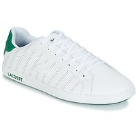 Shoes Men Low top trainers Lacoste GRADUATE 318 1 White / Green