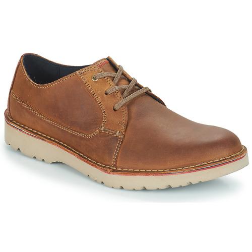Shoes Men Derby shoes Clarks VARGO PLAIN Brown