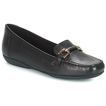 Shoes Women Loafers Geox D ANNYTAH MOC Black
