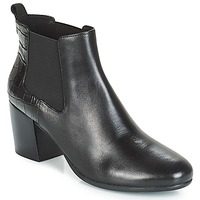 Shoes Women Ankle boots Geox D NEW LUCINDA Black