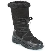 Shoes Women Snow boots Geox D HOSMOS B ABX Black