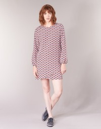 material Women Short Dresses Pepe jeans TRUDY Blue / White / Red