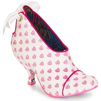 Shoes Women Low boots Irregular Choice Love is all around White / Pink