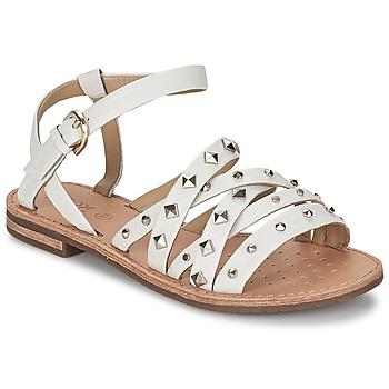 Shoes Women Sandals Geox JOLANDA E White