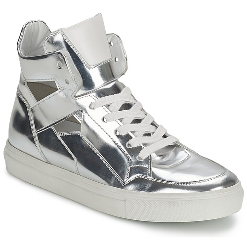 Shoes Women High top trainers Kennel + Schmenger TONIA Silver