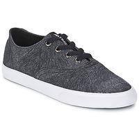 Shoes Women Low top trainers Supra WRAP Black / White
