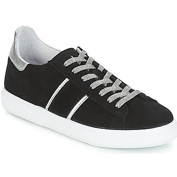 Shoes Women Low top trainers Yurban JEMMY Black
