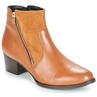Shoes Women Ankle boots So Size JOCASSU Camel