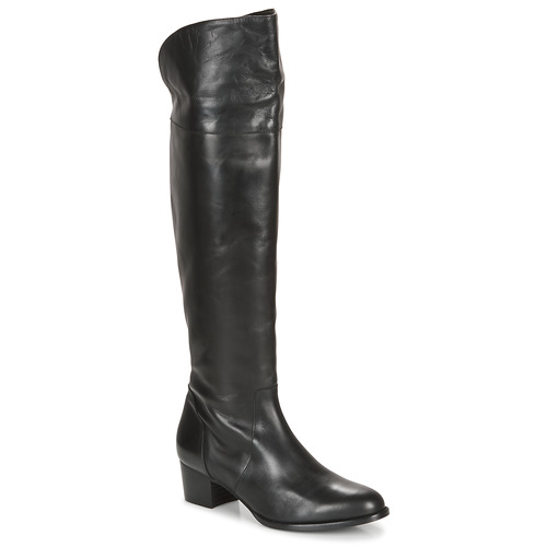 Shoes Women High boots So Size JICHELIEU Black