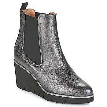 Shoes Women Mid boots Fericelli JERAMO Silver