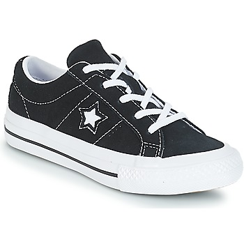 Shoes Children Low top trainers Converse ONE STAR OX  black / White