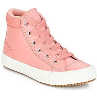 Shoes Girl High top trainers Converse CHUCK TAYLOR ALL STAR PC BOOT HI Rust / Pink / Burnt / Caramel / Rust / Pink