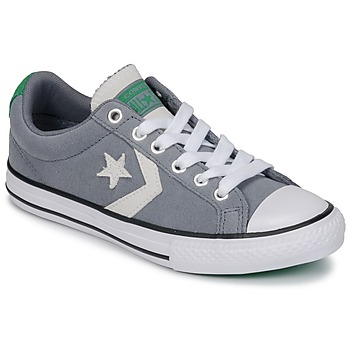 Shoes Children Low top trainers Converse STAR PLAYER OX Cool / Grey / Green / White