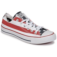 Shoes Low top trainers Converse CHUCK TAYLOR ALL STAR PRINT OX Blue / Red / White