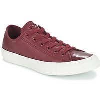 Shoes Women Low top trainers Converse CHUCK TAYLOR ALL STAR LEATHER OX Bordeaux