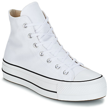 Shoes Women High top trainers Converse CHUCK TAYLOR ALL STAR LIFT CANVAS HI White