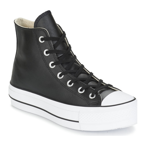 CHUCK TAYLOR ALL STAR LIFT CLEAN LEATHER HI