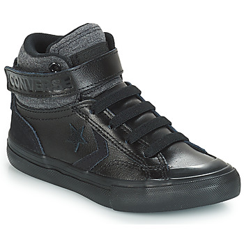 Shoes Children High top trainers Converse PRO BLAZE STRAP LEATHER HI Black