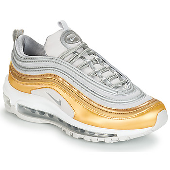 Shoes Women Low top trainers Nike AIR MAX 97 SPECIAL EDITION W Grey / Gold