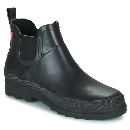 Shoes Women Wellington boots Sanita FELICIA Black