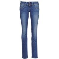 material Women straight jeans Pepe jeans VENUS Blue / MEDIUM