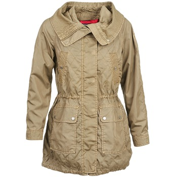 material Women Trench coats Tommy Hilfiger JANINE Beige