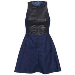 material Women Short Dresses G-Star Raw SUTZIL DRESS MARINE / Black