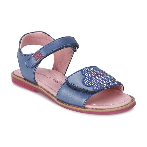 Shoes Girl Sandals Agatha Ruiz de la Prada MISS PONZA Blue