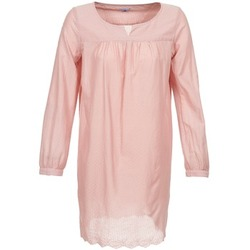 material Women Short Dresses Bensimon BAHIA Pink