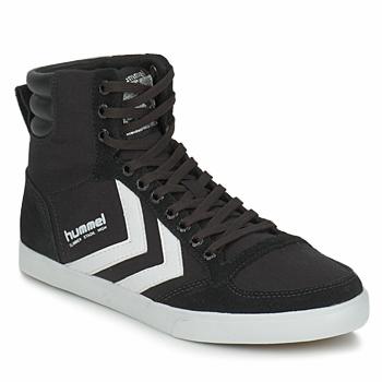 Shoes High top trainers Hummel TEN STAR HIGH CANVAS Black / White