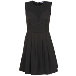 material Women Short Dresses Brigitte Bardot ALEXANDRIE Black