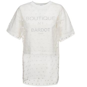 material Women sweatpants Brigitte Bardot ANASTASIE ECRU