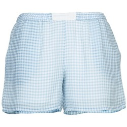 material Women Shorts / Bermudas Brigitte Bardot ANGELIQUE Blue / White