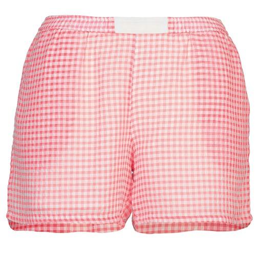 material Women Shorts / Bermudas Brigitte Bardot ANNE Red / White