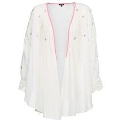material Women Jackets / Cardigans Brigitte Bardot APOLLINE White