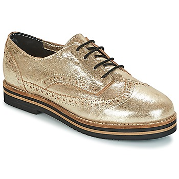Shoes Women Derby shoes Coolway AVO Gold / Black
