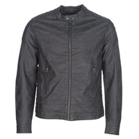 material Men Leather jackets / Imitation le Esprit VENI Black