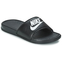 Shoes Men Low top trainers Nike BENASSI JUST DO IT Black