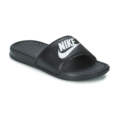 Shoes Men Sliders Nike BENASSI JUST DO IT Black