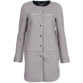 material Women coats La City FLORA Grey