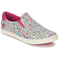 Shoes Women Slip ons Gola DELTA LIBERTY KT White / Pink / Blue
